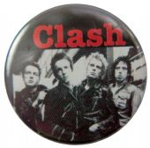 The Clash - 'Group' Button Badge